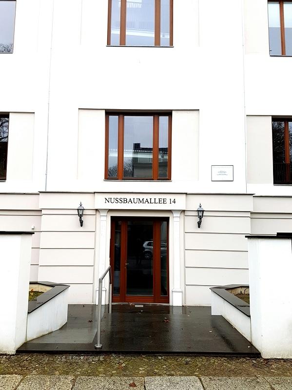 Dom, w którym mieszkał Georg Simmel (Berlin, Nussbaumallee 14)/fot. Natalia Wąsik