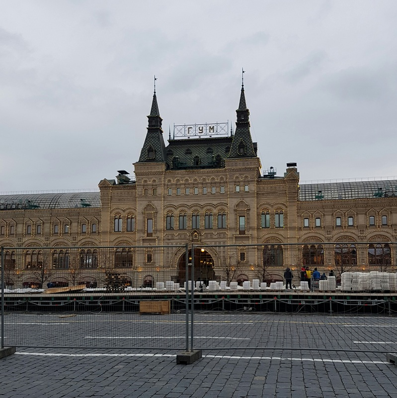 Dom towarowy, w którym odbył się pokaz Diora/fot. Natalia Wąsik