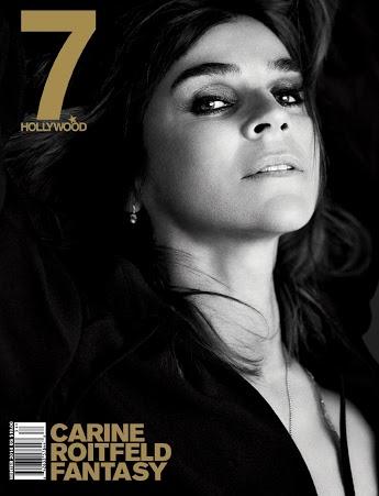Carine Roitfeld na okładce magazynu Marie Claire/październik 2015