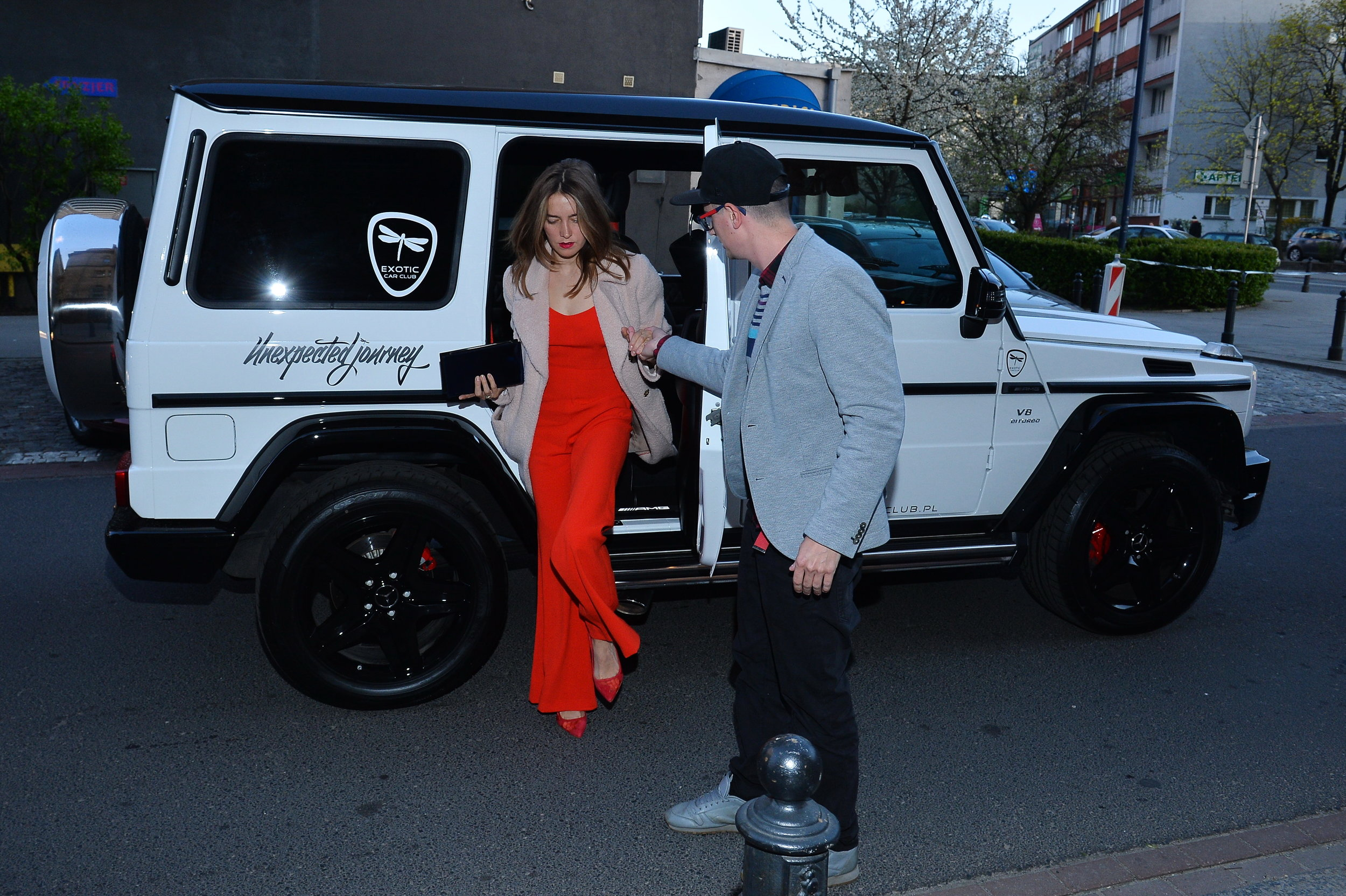 Kamilla Baar. Exotic Car Club - Partner wydarzenia/fot. mat. prasowe Badura