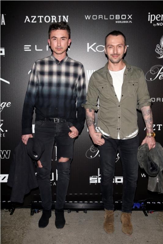 Marcin Paprocki i Mariusz Brzozowski/fot. AKPA