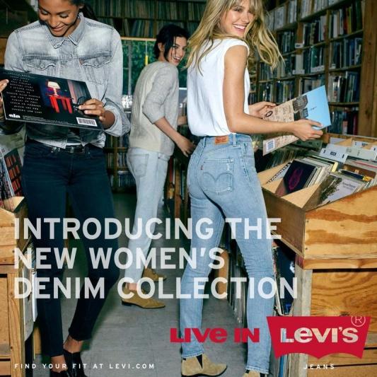 Kampania Levi's jesień 2015
