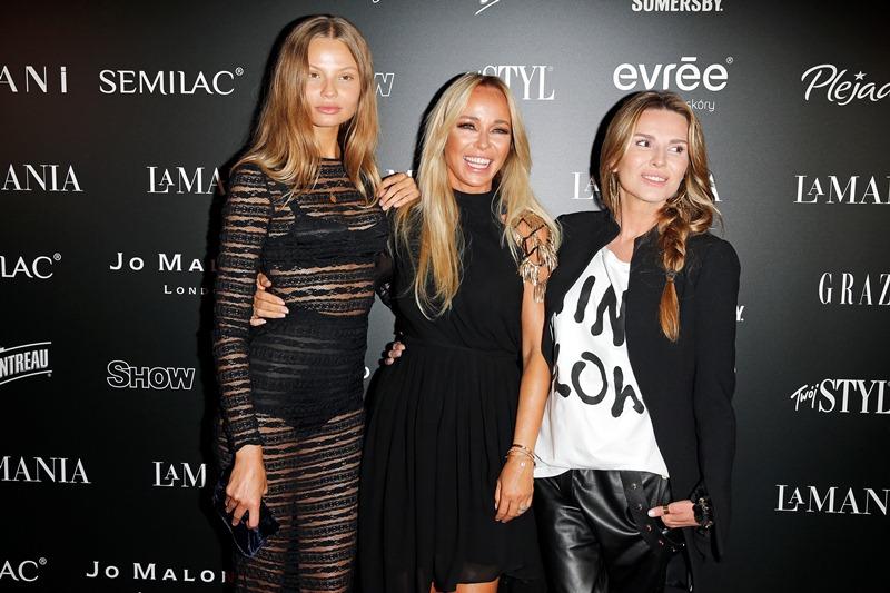 Magdalena Frąckowiak, Joanna Przetakiewicz i Hanna Lis/fot. AKPA