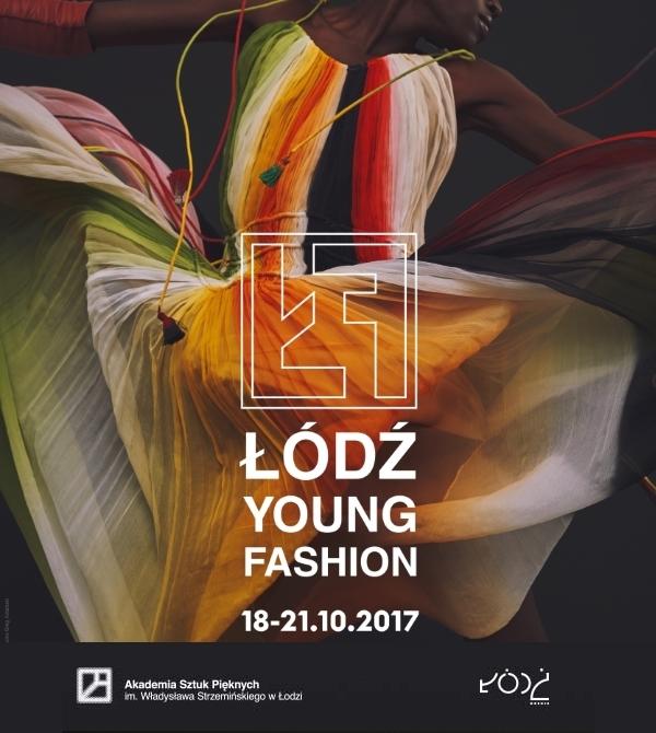 Plakat promujący wydarzenie Łódź Young Fashion 2017
