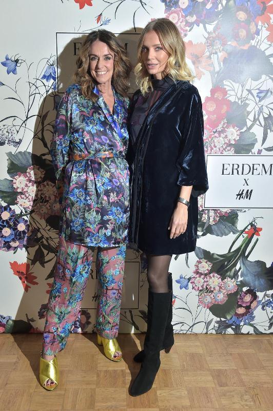 Dominique Fantaccino - Prezes H&M na Europę Centralną i Agnieszka Woźniak-Starak/fot. AKPA