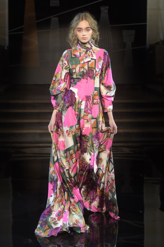 Suknia projektu Lidii Kality /fot. AKPA