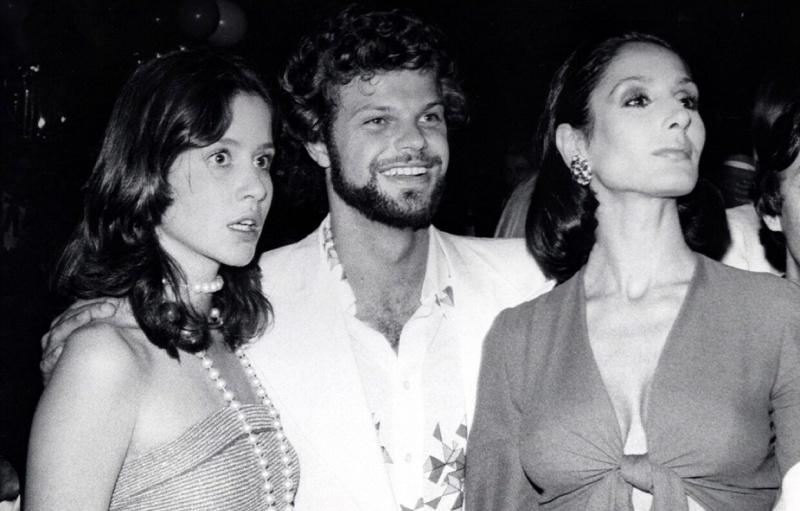 Od lewej: Milana Windisch Graetz, Egon von Furstenbeg i Jacqueline de Ribes /fot. www.vogue.it