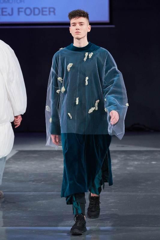 Pokaz kolekcji dyplomowej Marii Klar podczas gali MSKPU/fot. Szymon Brzóska - Fashion Images