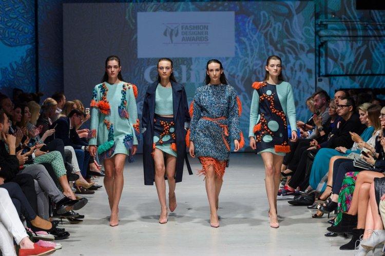 Pokaz zwycięskiej kolekcji Celiny Wesołowskiej podczas 9. edycji Fashion Designer Awards/fot. Filip Okopny