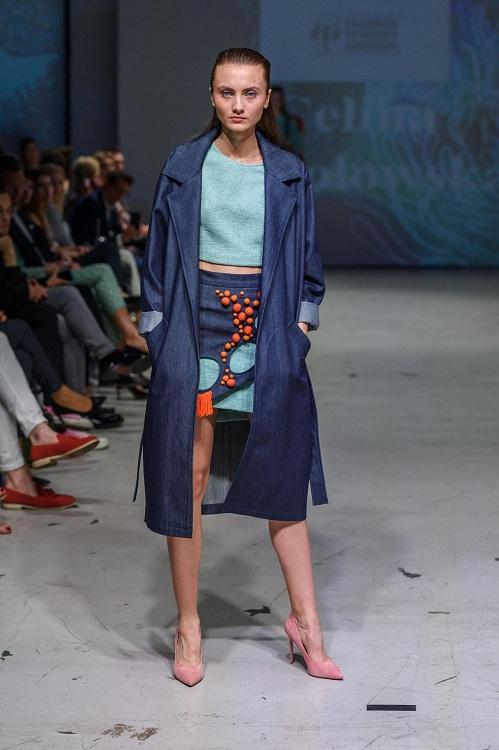 Pokaz zwycięskiejkolekcji Celiny Wesołowskiej podczas 9. edycji Fashion Designer Awards/fot. Filip Okopny