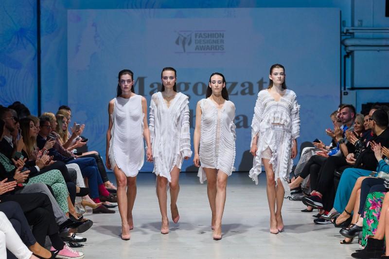 Pokaz kolekcji Małgorzaty Soboty podczas 9. edycji Fashion Designer Awards/fot. Filip Okopny