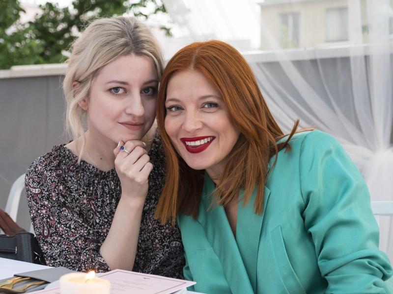 Natalia Hołownia oraz Ada Fijał/fot. materiały prasowe KTW Fashion Week