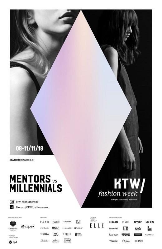 Plakat promujący II edycję KTW Fashion Week