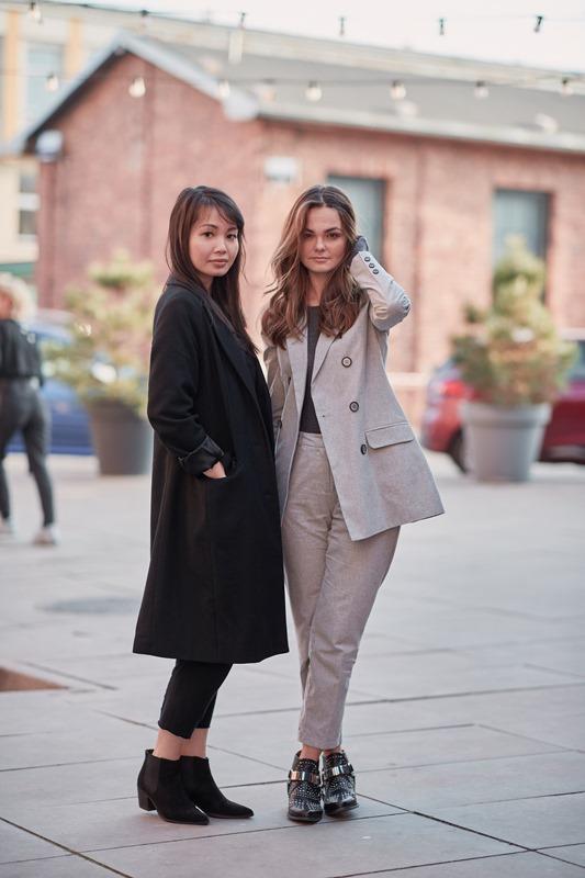 Cathy Nhung i Marta Kowalska/fot. Szymon Brzóska - The Style Stalker