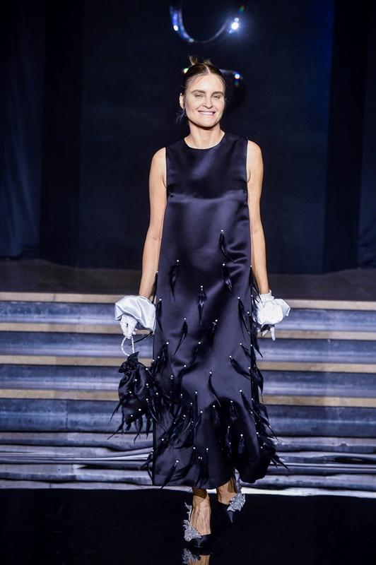 Joanna Horodyńska w kreacji Le Brand/fot. AKPA