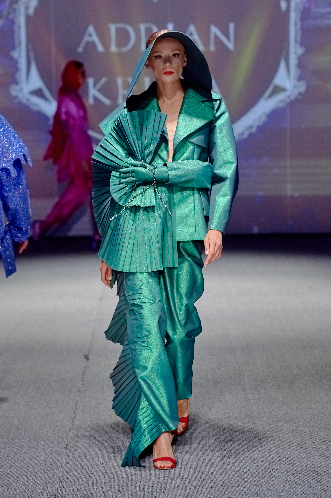 Kolekcja Adriana Krupy /fot. Filip Okopny - Fashion Images