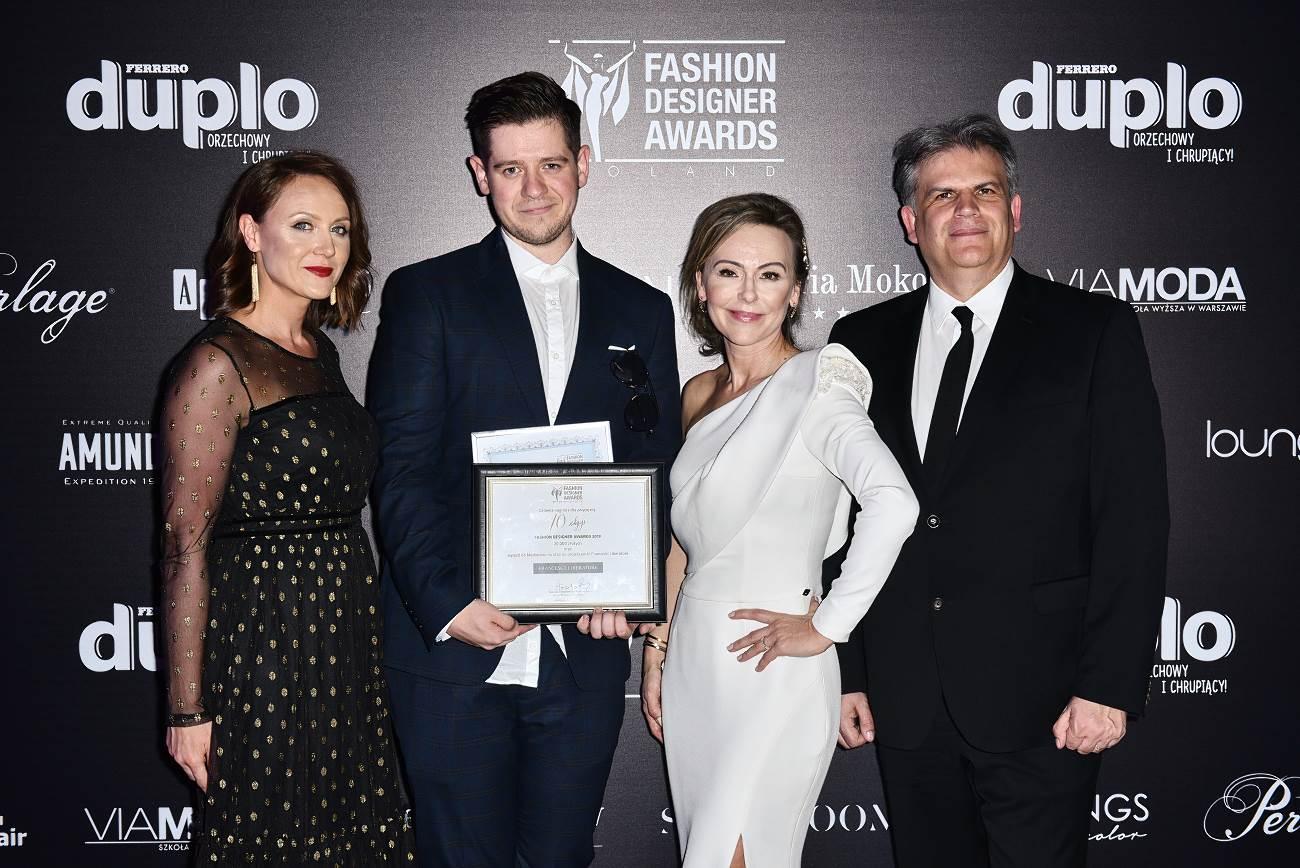 Od lewej: Marta Zawistowska-Czapla, Adrian Krupa, Joanna Sokołowska-Pronobis oraz Enrico Bottero /fot. Marcin Kmieciński - Fashion Images