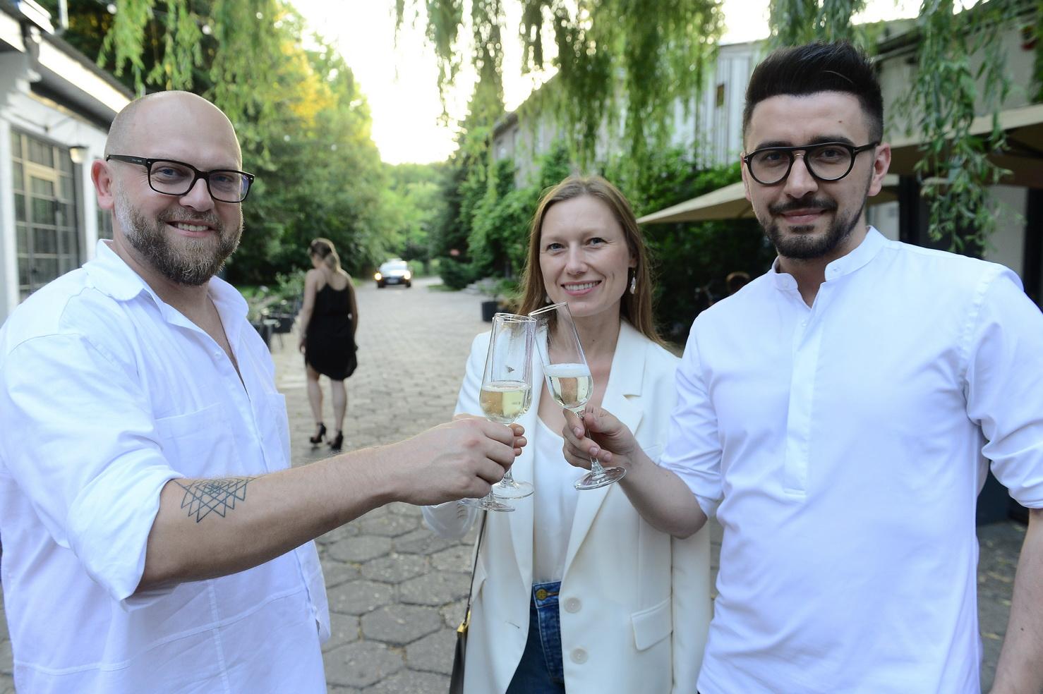 Rafał Wyszyński (KTW FW), Agata Tanter - red.nacz. LaMode.Info, Arek Vaz (KTW FW)