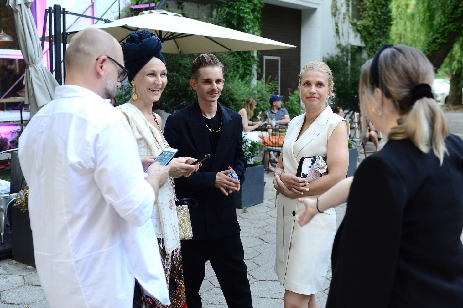 Anna Puślecka (KTW FW), Wojciech Szczot (Fashion Post) oraz Dorota Bernat (Fashion Magazine)