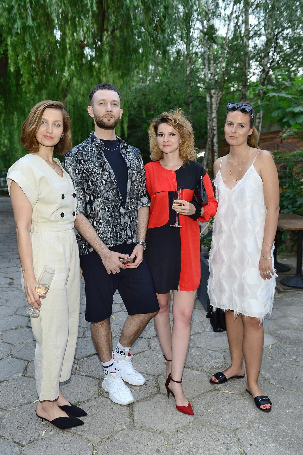 Karolina Tomaszewicz (Twój Styl), Marcin Brylski, Joanna Mroczkowska (Cosmopolitan), Karolina Limbach (Elle)