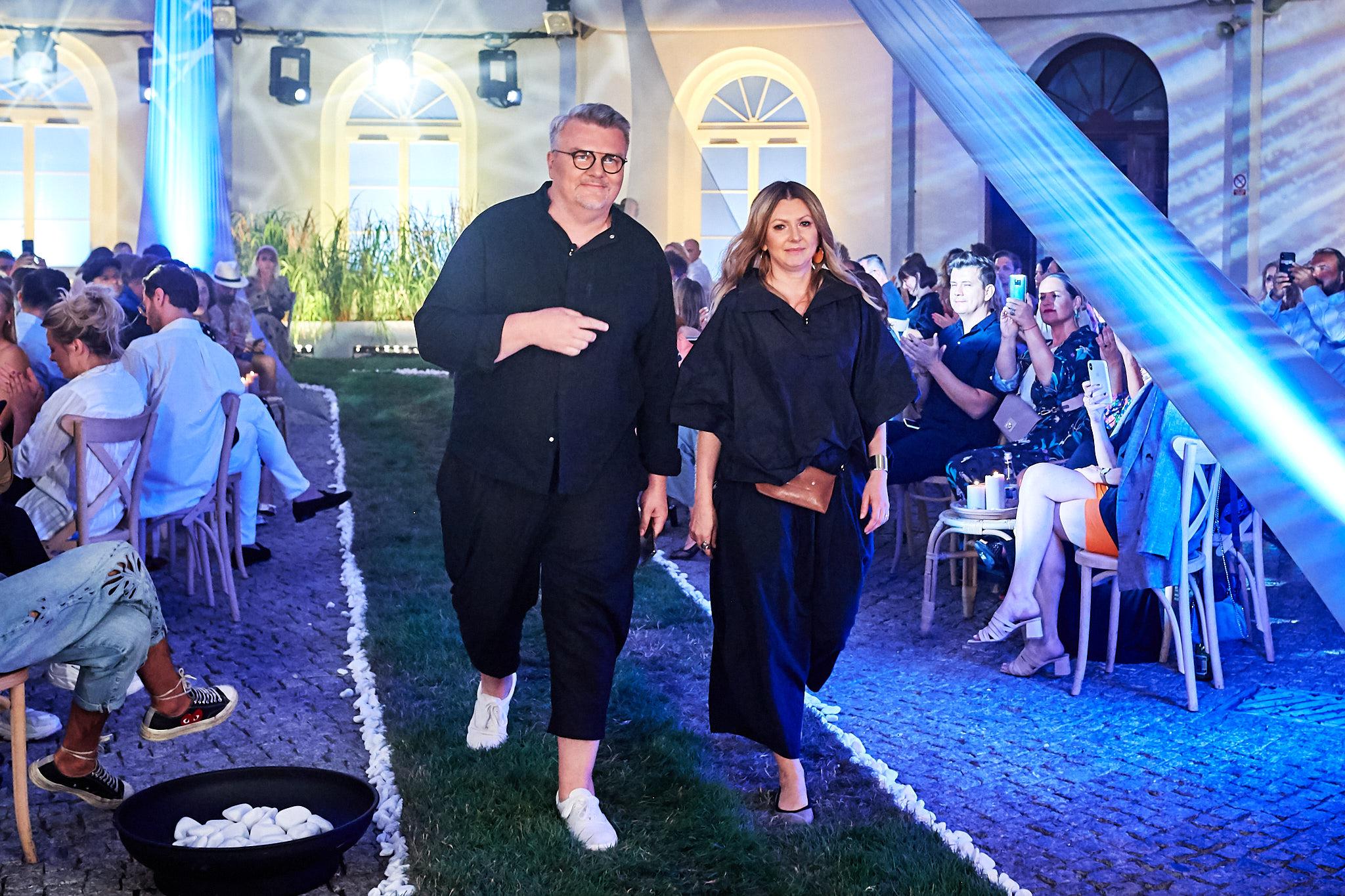 Duet MMC - Rafał Michalak i Ilona Majer /fot. Filip Okopny - Fashion Images