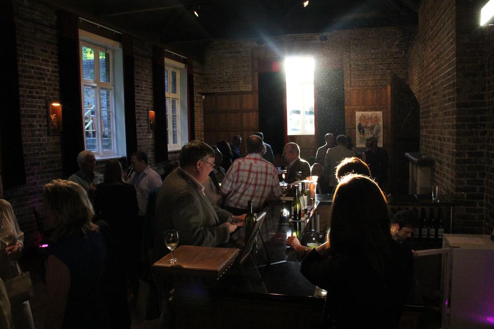 The Bar in The Flint Halls at Folkington Manor