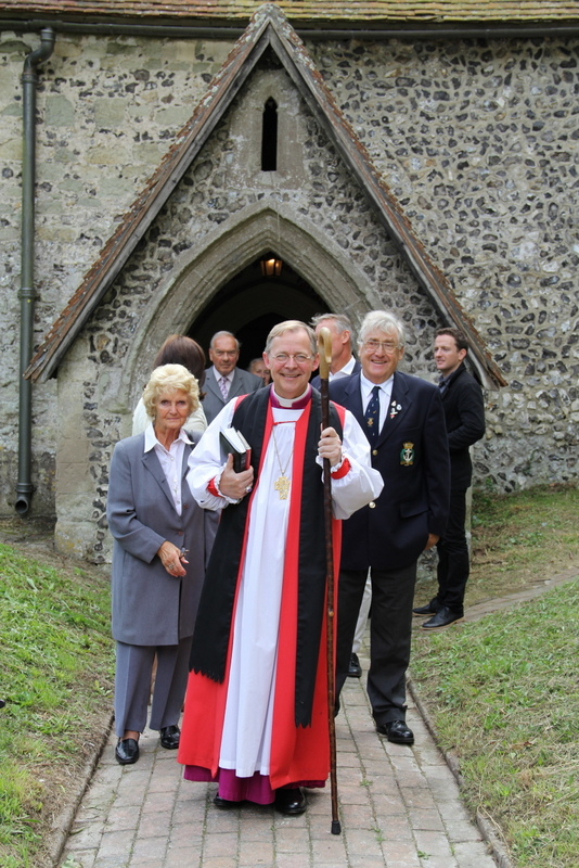 Bishop Lindsay at St Peter ad Vincula, Folkington