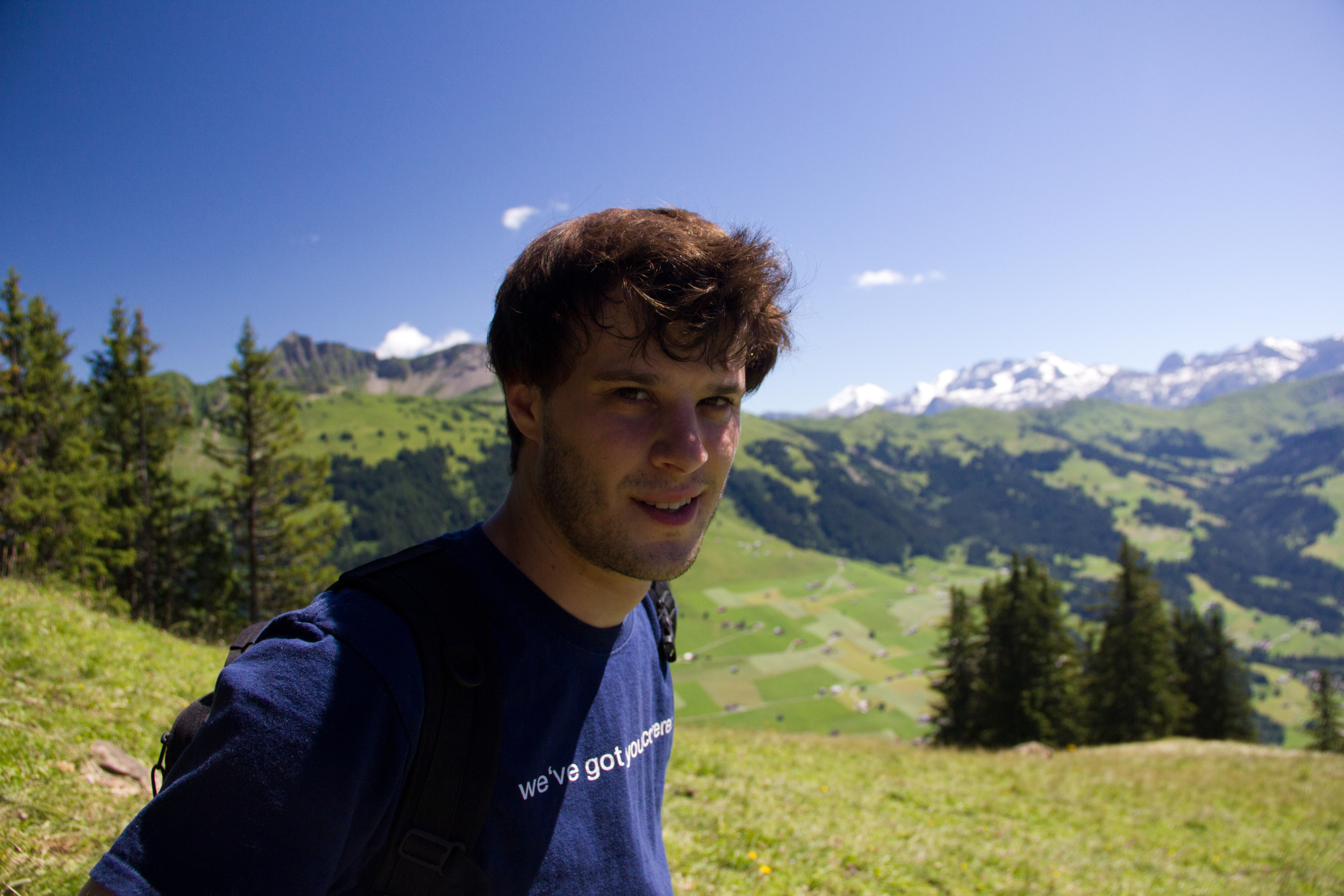 In the Alps, photo by Whitney
