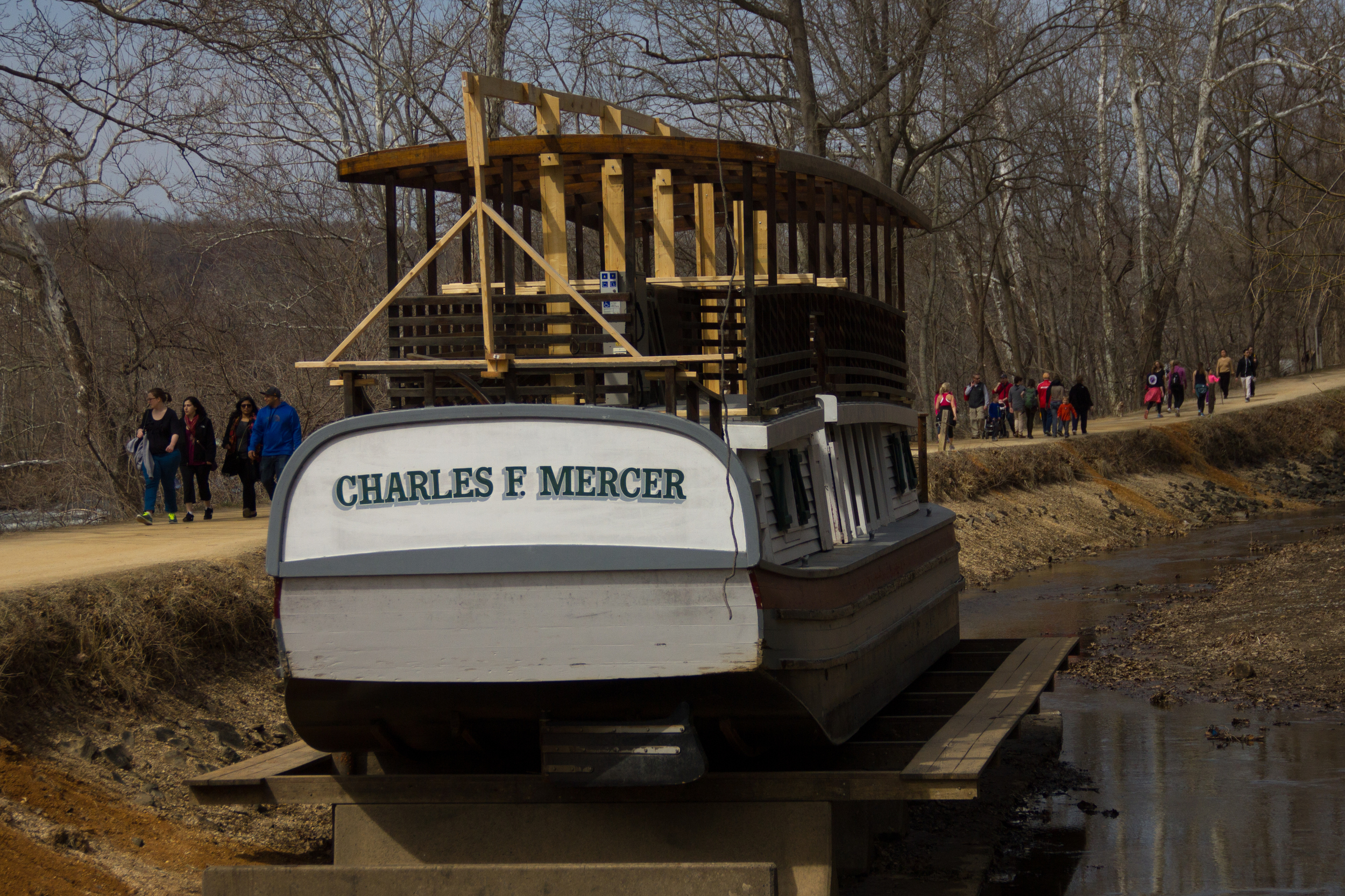 Charles F. Mercer, old canal boat