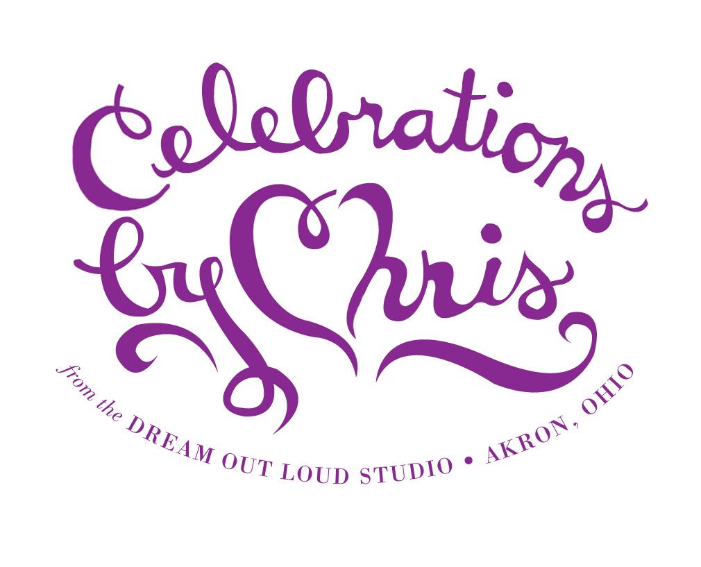 Celebrations by Chris logo round 1
