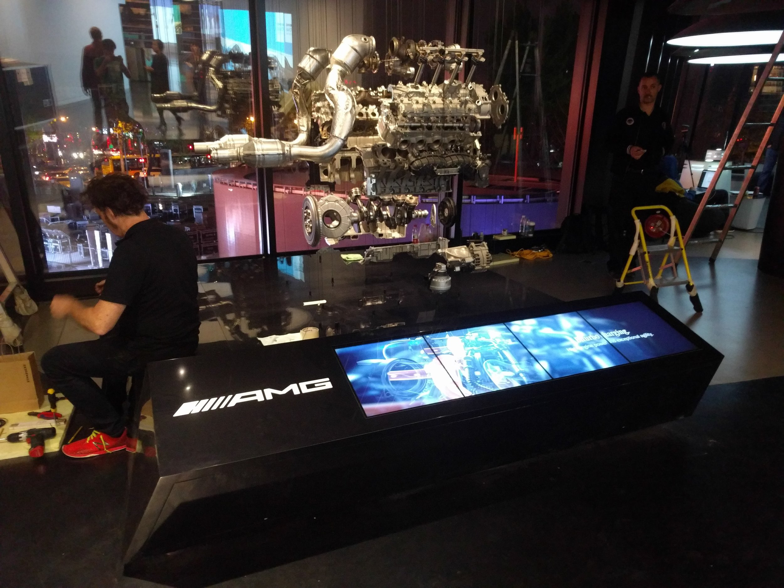 AMG Engine Sculpture