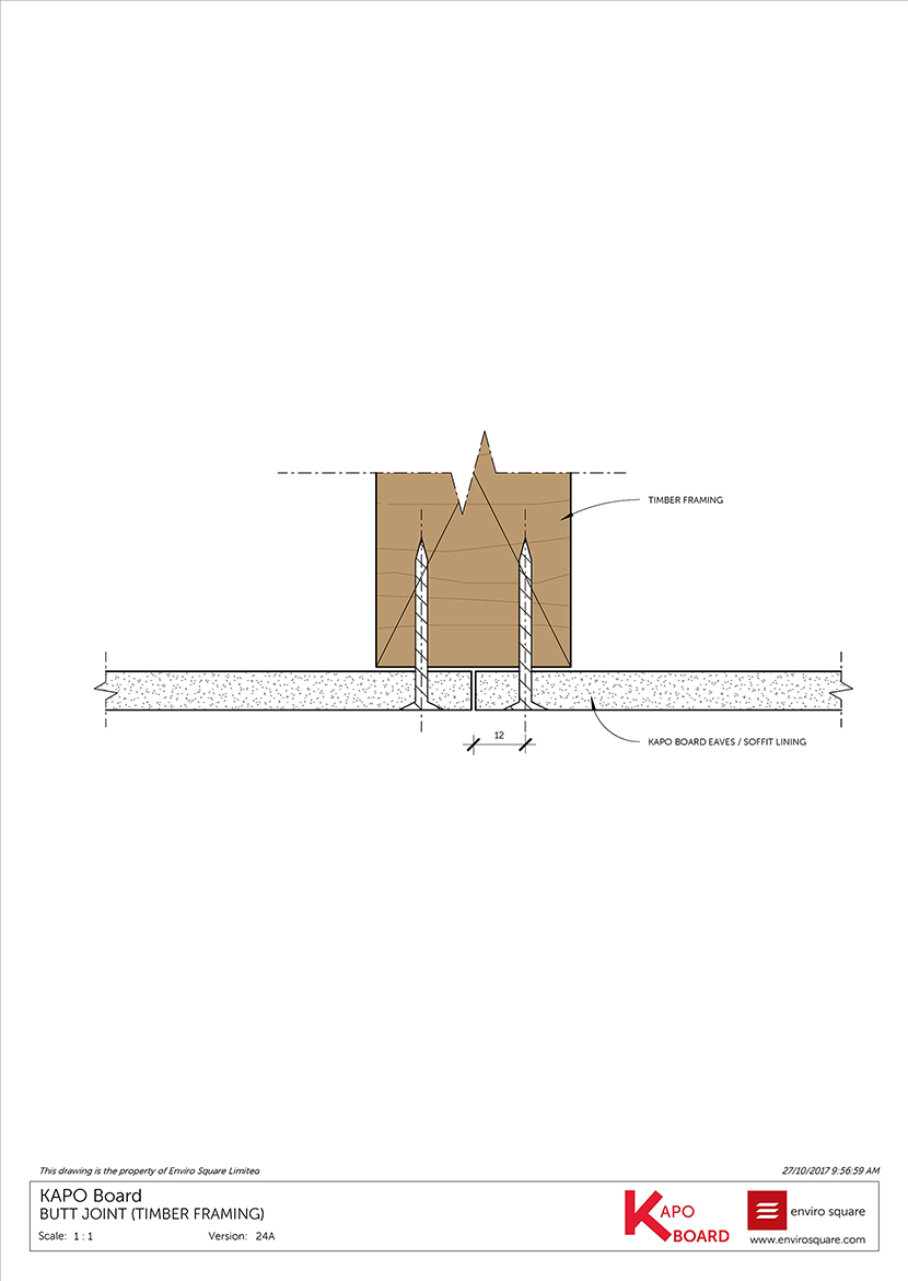 24A butt joint (timber framing)