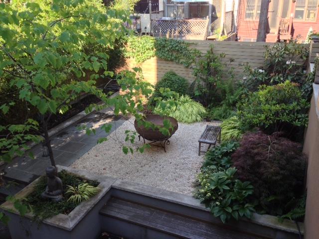 [Fort Greene- Brooklyn Garden designed by Alex Abuza]