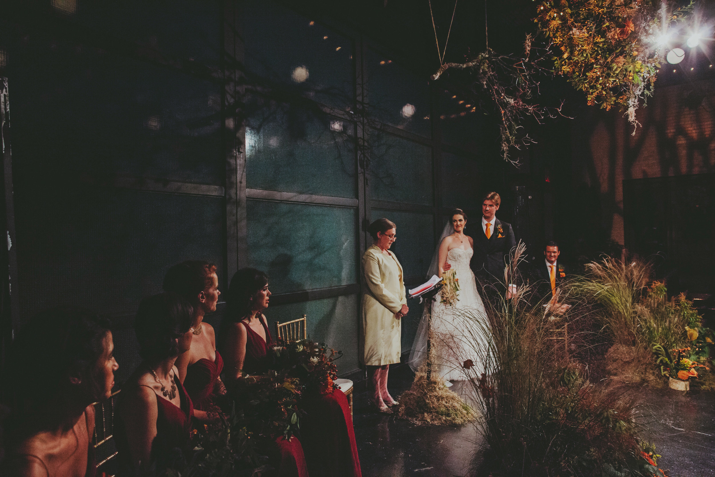 An untamed, fall wedding at 501 Union