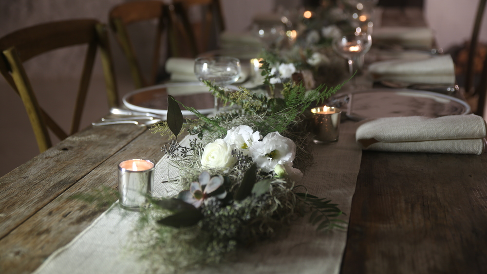 Styled tablescape - Marc Bunag Photography