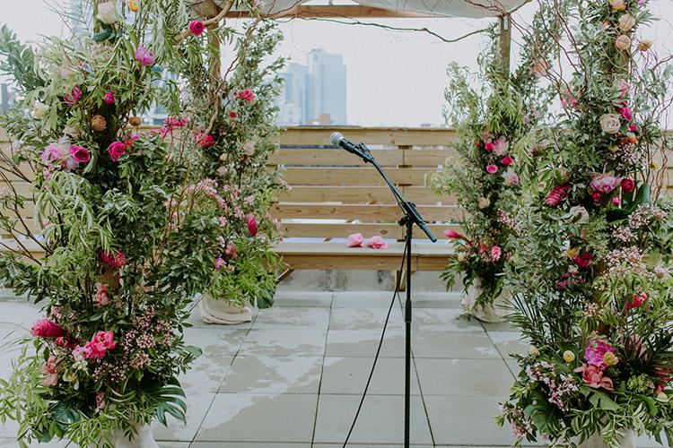 Spring Brooklyn Wedding, photo by Amber Gress