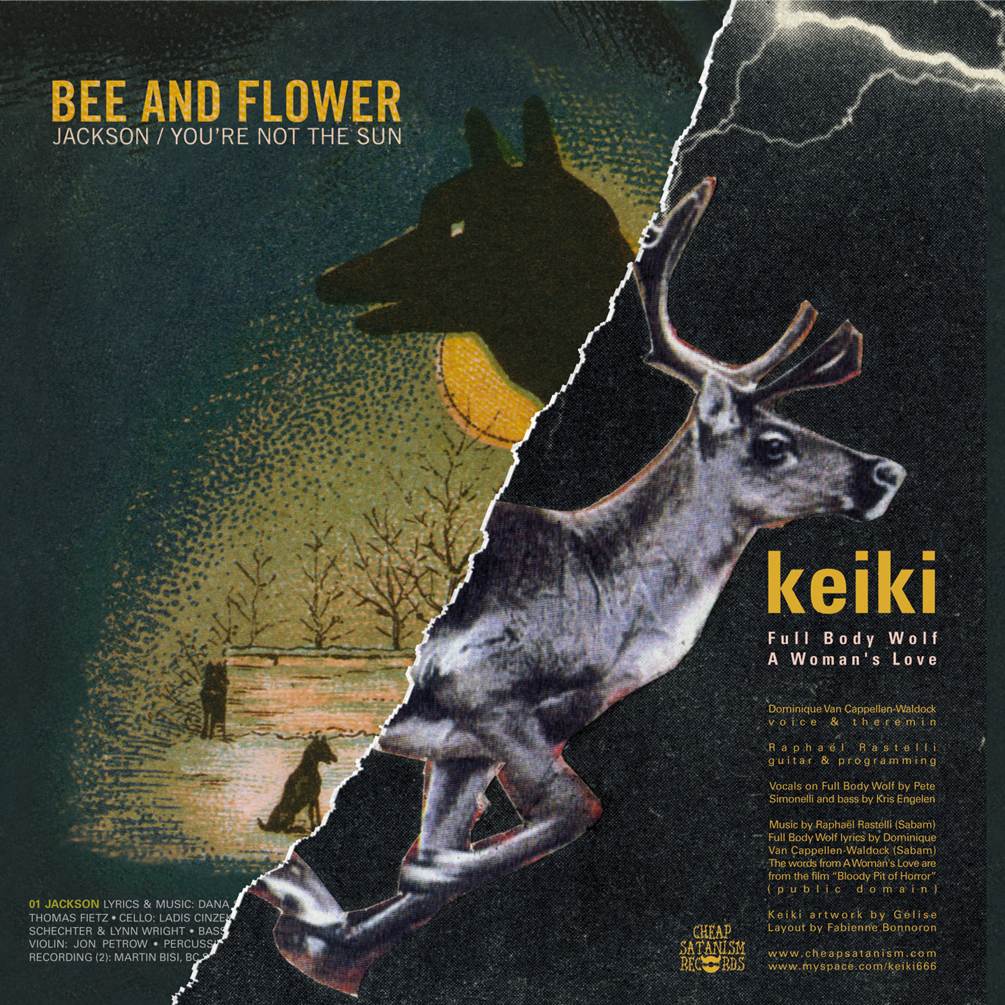 KEIKI / BEE AND FLOWER