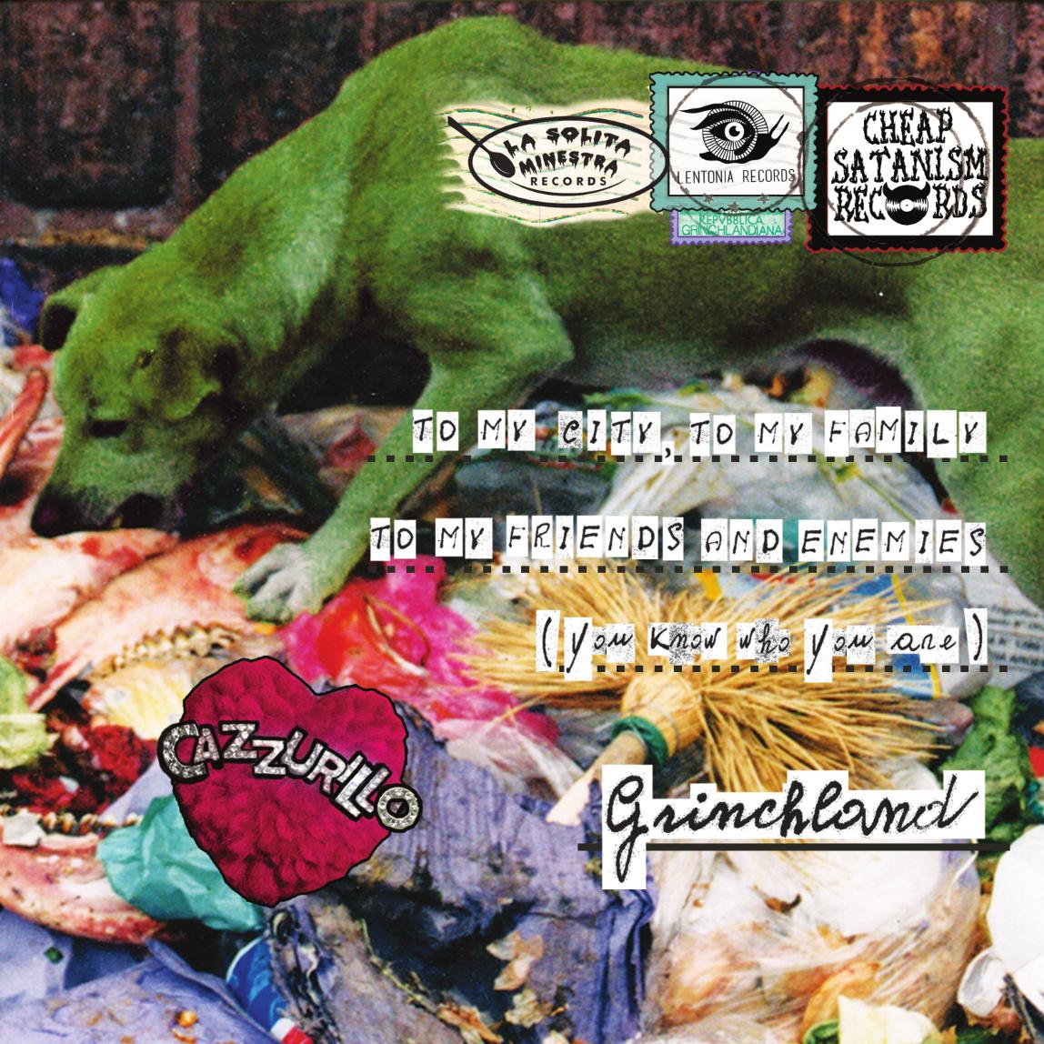 Cat #: CHEAP666/034 Release date: 02/12/2016 Format: CD / Digital Labels: La Solita Minestra / Cheap Satanism Records / Lentonia Records Distribution: Mandaï