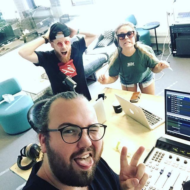 Nu kör vi sista dagen! Live i radion och på instagram 🙌 häng määää!