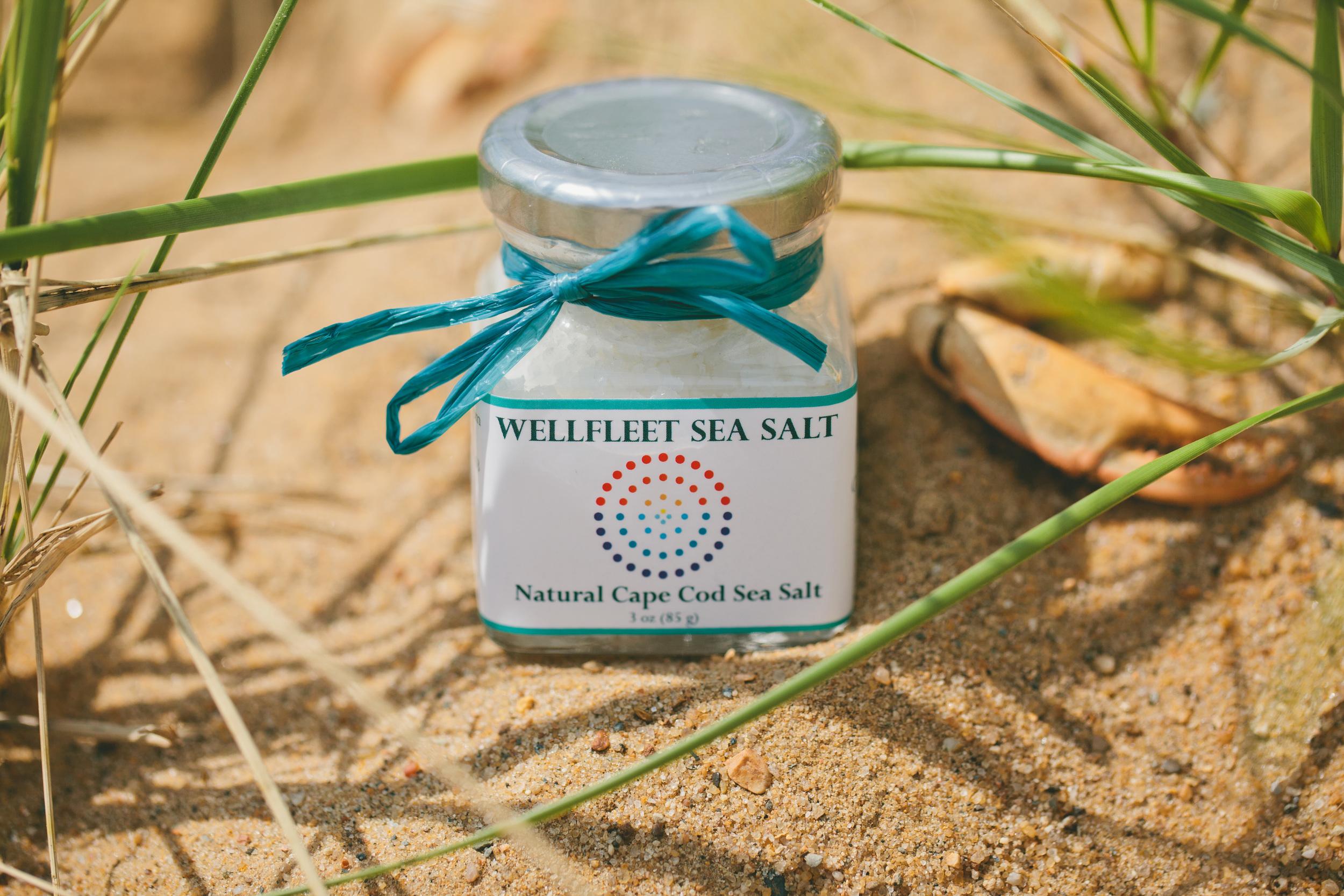 Wellfleet Sea Salt    Story by Jenn Bakos