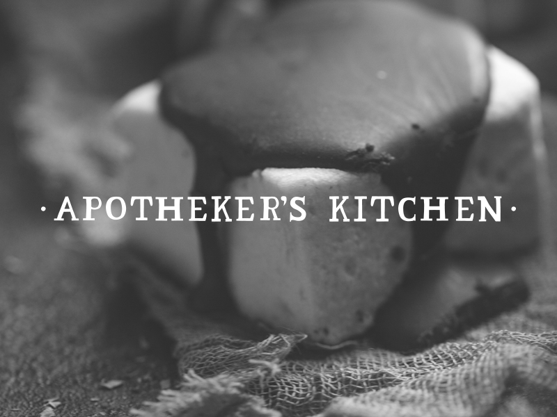 DAY 3 - APOTHEKER'S KITCHEN