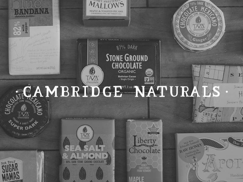 DAY 16 - CAMBRIDGE NATURALS