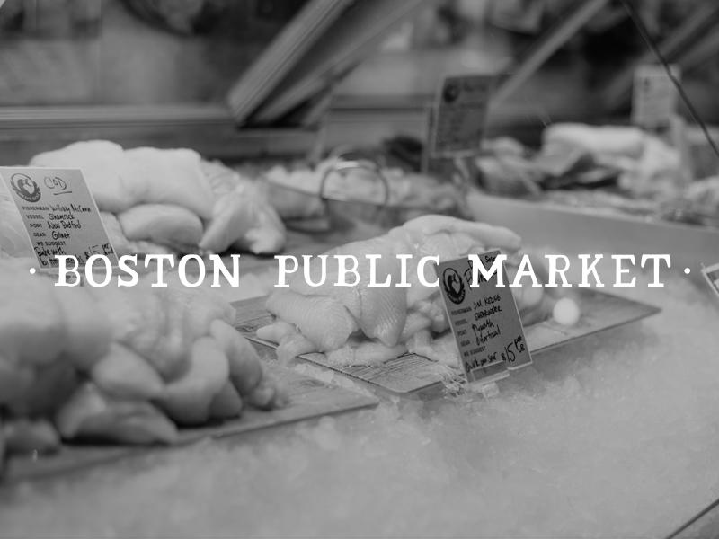 DAY 21 - BOSTON PUBLIC MARKET