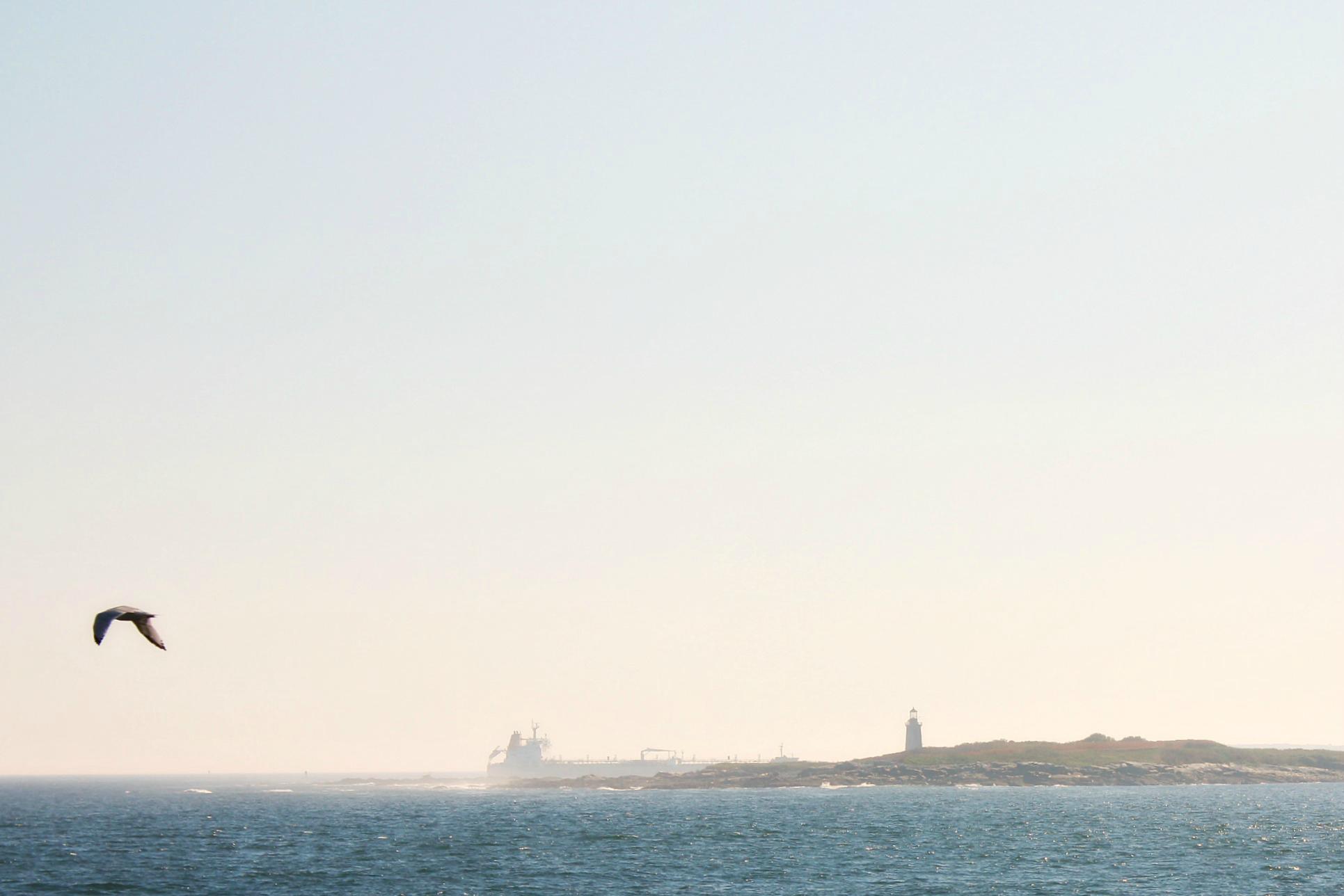 Ram Island Light and Oil Tanker.jpg