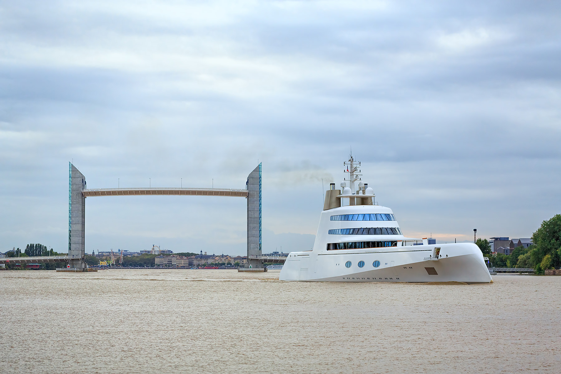 A Superyacht in Bordeaux