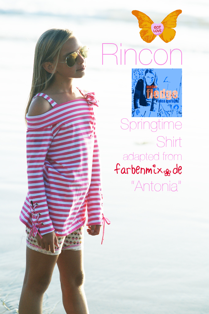 Rincon Off-the-Shoulder Tunic Instructions