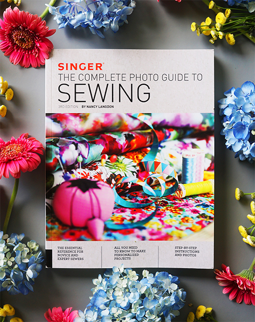I've completely updated and revised Singer's classic how-to! Learn everything from basics to advanced tailoring techniques. Practice what you've learned on fun home décor projects!   Buy yours here!