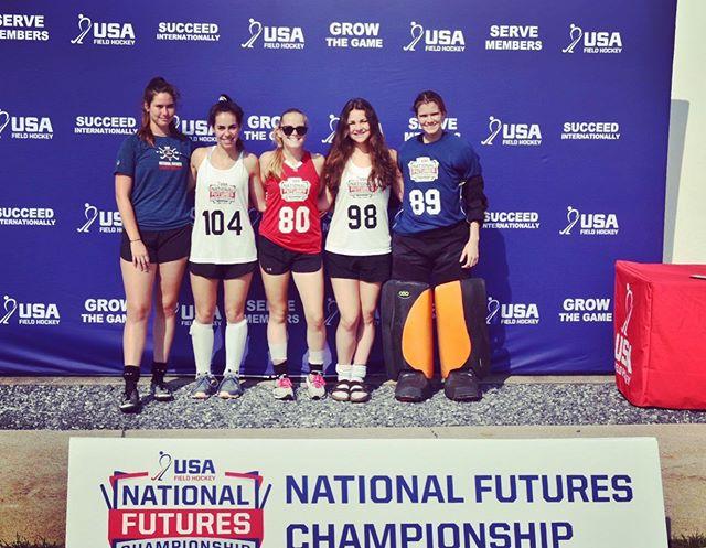 U19 NFC's! Congrats Lexie, Emily, Sara, Sammy, and Isla!!