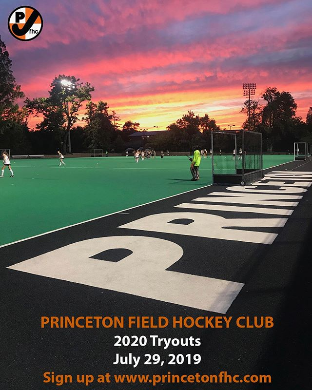 Club tryouts are right around the corner! Make sure you register! More details can be found at www.princetonfhc.com
