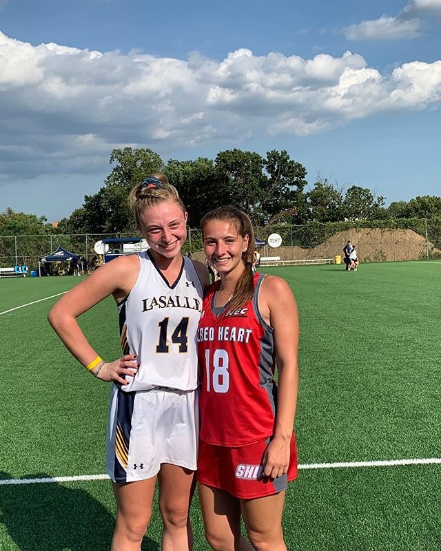 PFHC reunion today as Samie Hackman and Kelsey Fithen squared off in their home opener!
